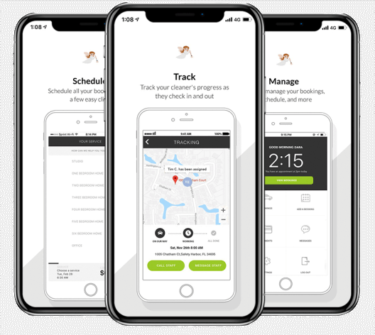 track schedule and manage