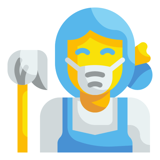 cleaning maid icon